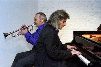 Hans Lüdemann-p Reiner Winterschladen-tp. 12.12.2000 © Hyou Vielz