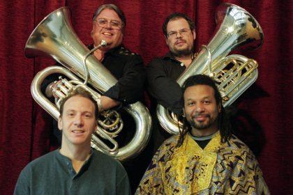 "Tuba Tuba - April 2001 Michael Godard-Dave Bargeron-Kennwood Dennard-Joe""Sunny"" Barbato © Hyou Vielz"