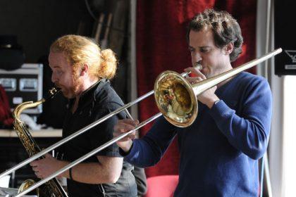 Hayden Chisholm und Nils Wogram 2010 © Hyou Vielz