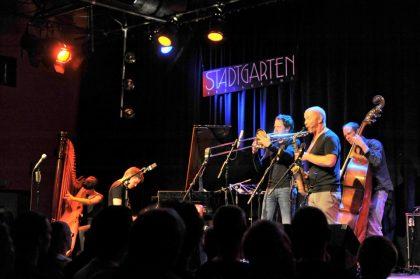 vl: Kathrin Pechlof. Pablo Held,  Nils Wogram, Hayden Chisholm, Dietmar Fuhr © Dr. med. Karl-Heinz Krauskopf