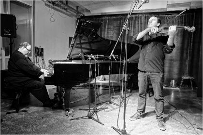 18.03.2015 LUBATOV Gareth Lubbe - viola, Simon Nabatov - piano © Peter Tümmers