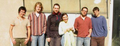 2005 - vl: Pablo Sáez, Paul Heller, Florian Weber, Claudia Carbo, Ziv Ravitz, Jeff Denson