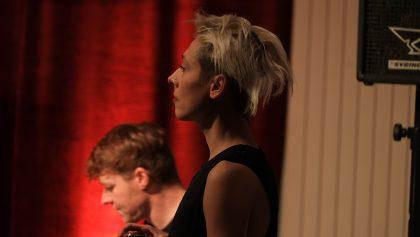Jelena Kuljic 11.12.2016 Z-Country Paradise Jelena Kuljic (SRB) - voice ; Frank Gratkowski (D) - alto sax, bass clarinet ; Kalle Kalima (FIN) - guitar ; Oliver Potratz (D) - electric bass ; Christian Marien (D) - drums