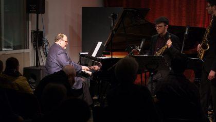 17.02.2017: Jilman Zilman feat. Simon Nabatov – acoustic concert  vl: Simon Nabatov, Johannes Ludwig, Julian Bossert