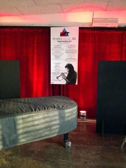 Hayden Chisholm präsentiert: PLUSHMUSIC VII – TRANSFIGURED LOFT – 16.3.-18.3.2017
