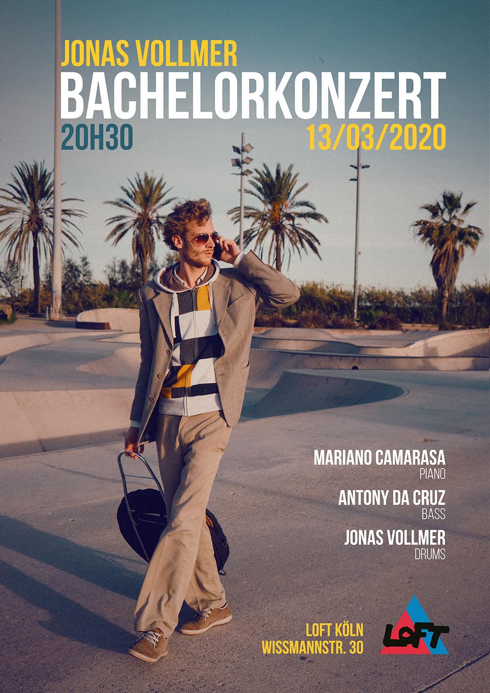 Bachelorabschlusskonzert LOFT Köln Cologne Mariano Camarasa Antony Da Cruz Jonas Vollmer