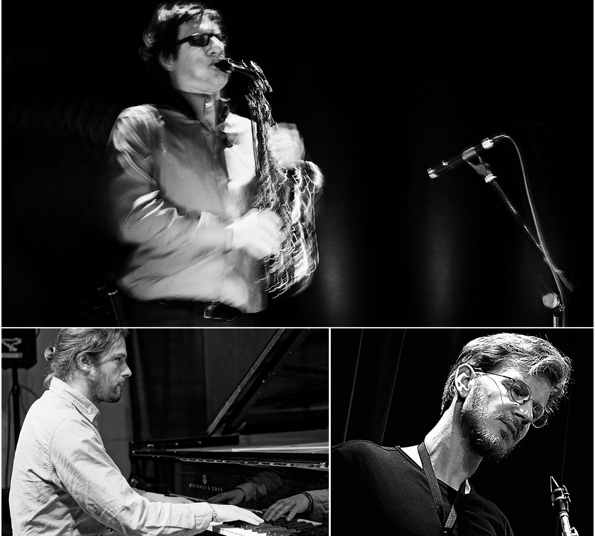 Simon Seidl Frank Gratkowski Leonhard Huhn LOFT köln cologne jazz livestream lee konitz memoriam
