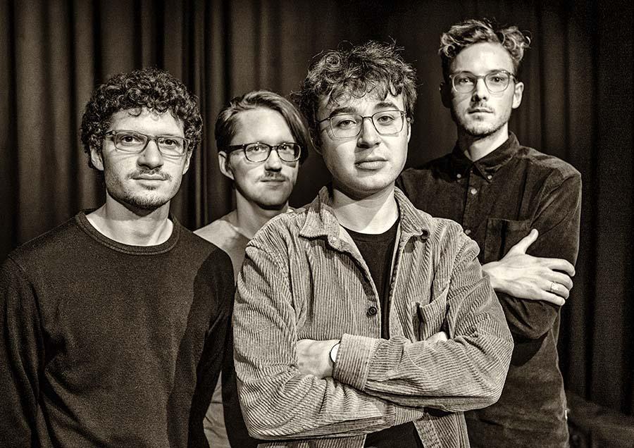 Fabian Dudek Quartett Felix Hauptmann David Helm Fabian Arends Köln LOFT Cologne livestream