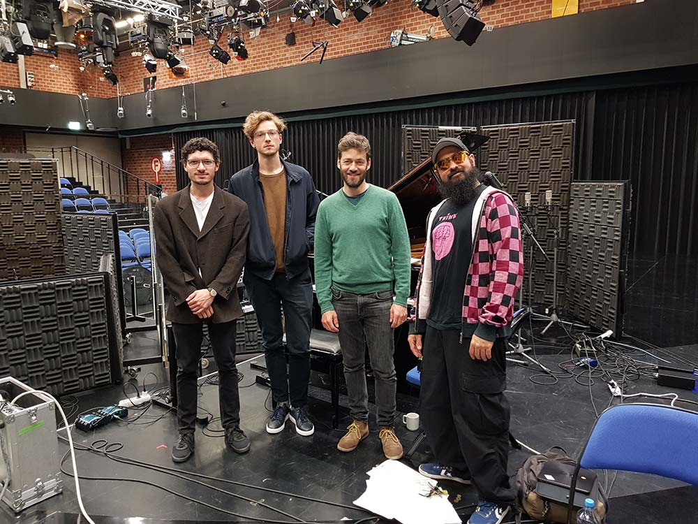 Trio, Christian Weidner, Felix Hauptmann, Felix Hauptmann Trio, Reza Askari, Fabian Arends, LOFT, Cologne, Köln