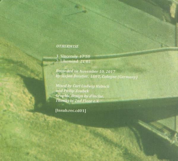 Otherwise, Philip Zoubek, Carl Ludwig Hübsch, Pierre-Yves Martel Recorded, LOFT, Cologne, Köln, Stefan Deistler