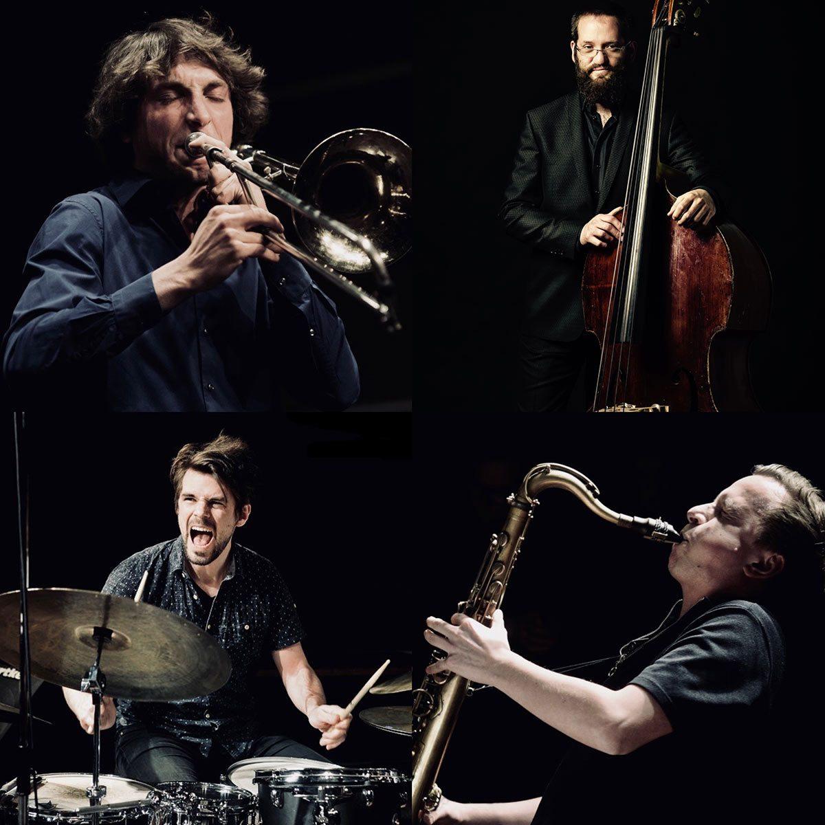 Sebastian Gille, Johannes Lauer, Robert Landfermann, Jonas Burgwinkel