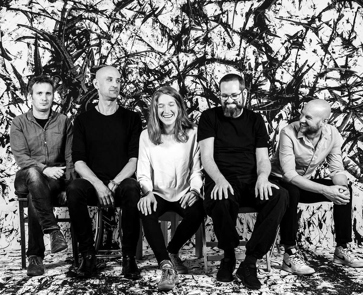 Emißatett, Elisabeth Coudoux, Matthias Muche, Robert Landfermann, Philip Zoubek, Etienne Nillesen, LOFT, IMPAKT, IMPAKT Night, livestream, jazzstadt, Köln, Cologne
