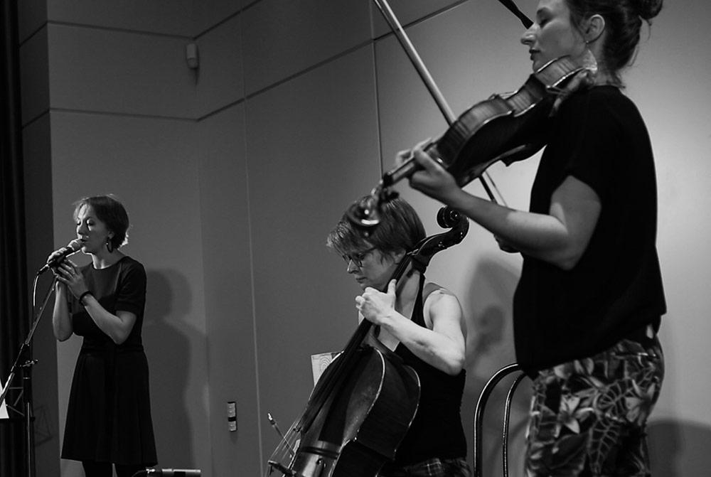 Kusimanten, LOFT, livestream, jazzstadt, Köln, Cologne, Marie-Theres Härtel, Tamara Lukasheva, Susanne Paul, Stefan Deistler