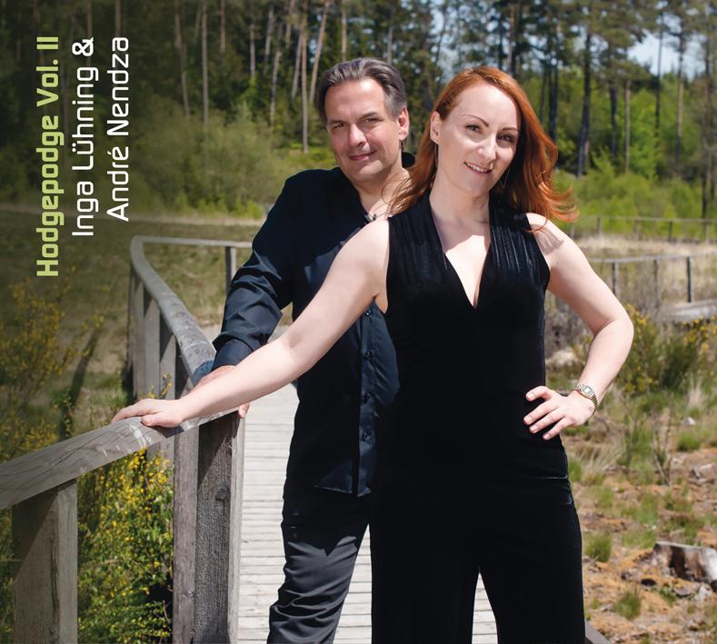 Inga Lühning, André Nendza, Hodgepodge,  JazzSick Records , 5132JS, Inga Lühning, André Nendza, Christian Heck, aufgenommen, recorded, LOFT, aufgenommen
