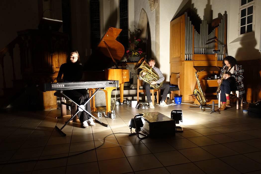Marlies Debacker, Salim Javaid, Carl Luwdig Hübsch, LOFT, Köln, improvisierte Musik, Cologne