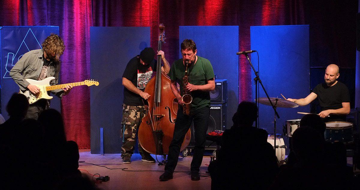 Frank Gratkowski, Sebastian Müller, Reza Askari, Thomas Sauerborn, The Resonators, livestream jazzstadt, jazzstadt Köln, Stefan Deistler, LOFT, Köln, Cologne