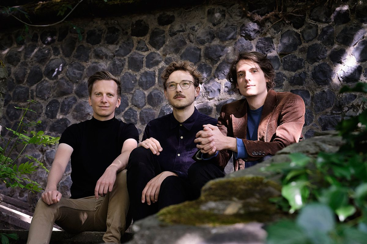 Lucas Leidinger, Sebastian Gille, Fabian Arends, Trio Aurora, Köln, LOFT, Cologne, livestream, Christian Heck, Holistic Images