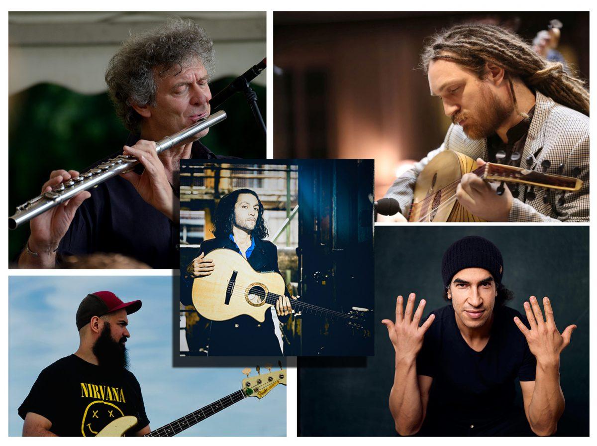 Peter Heidl, Benjamin Stein, Rouzbeh Asgarian, Reza Askari, Rhani Krija, livestream, LOFT, Cologne, Köln, Persia