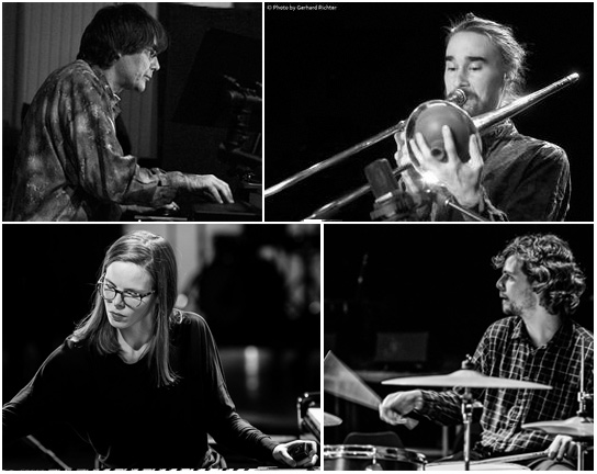 Marlies Debacker, Moritz Wesp, Eckard Vossas, Onno Govaert, Echolot, livestream, LOFT, Cologne, Köln, Stefan Deistler, elektroakustische Improvisation