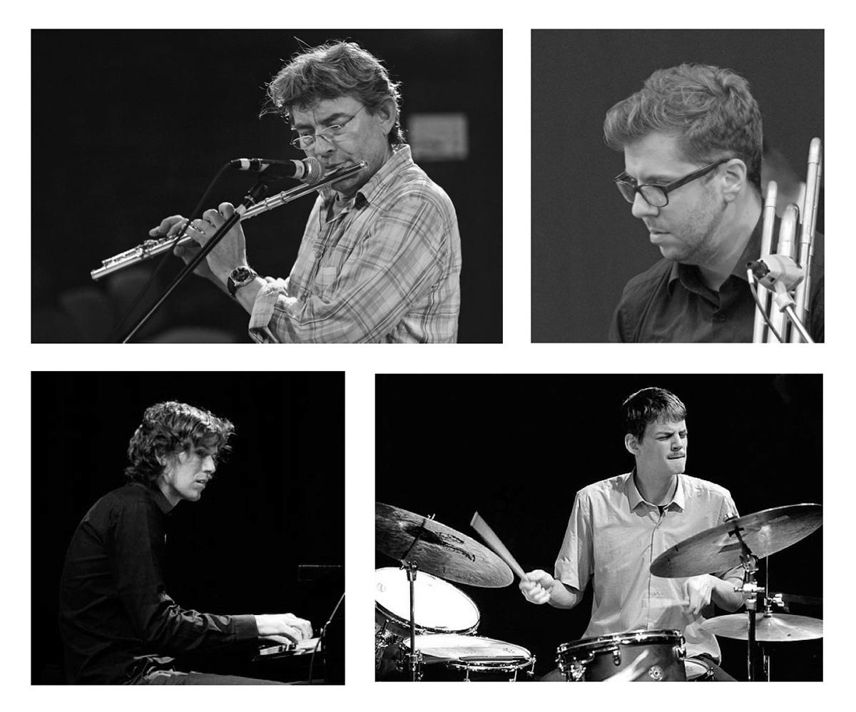 Michael Heupel Jan Schreiner, Benjamin Schaefer, Leif Berger, Stone Flowers, livestream, LOFT, Cologne, Köln, Christian Heck