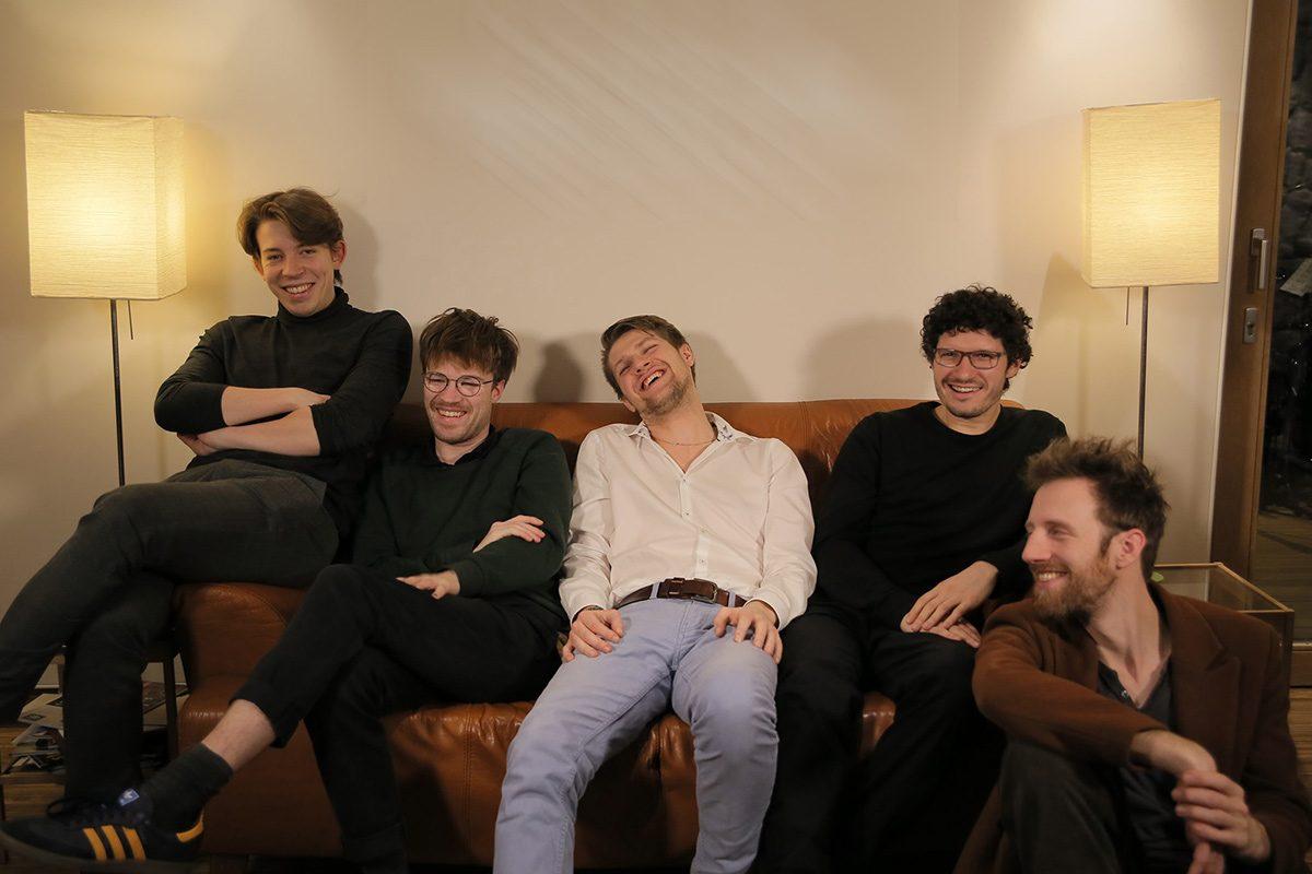 Marko Mebus, Julius Gawlik, Felix Hauptmann, Yannik Tiemann, Jan Philipp, LOFT, livestream, Cologne, jazzstadt Köln, jazzstadt, Stefan Deistler