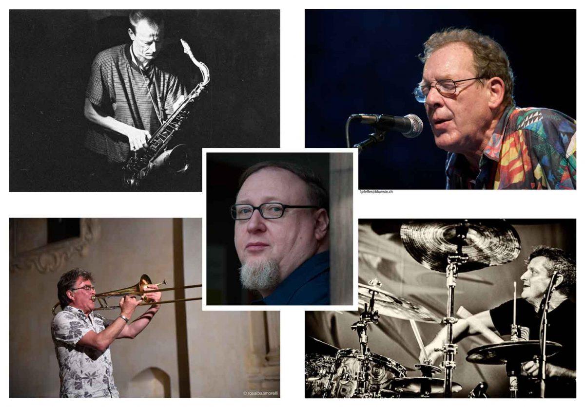 Phil Minton, Matthias Schubert, Wolter Wierbos, Simon Nabatov, Jim Black, LOFT, No Charms Done