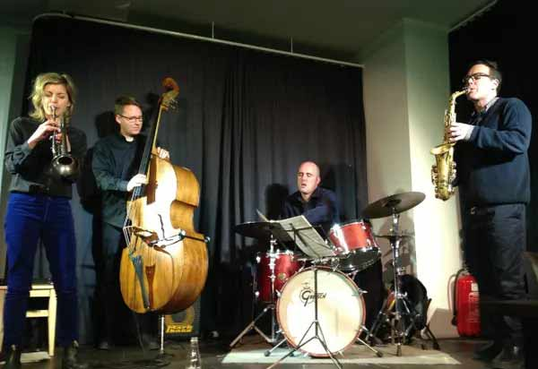 Lina Allemano, Brodie West, Andrew Downing, Nick Fraser, FOUR, LOFT