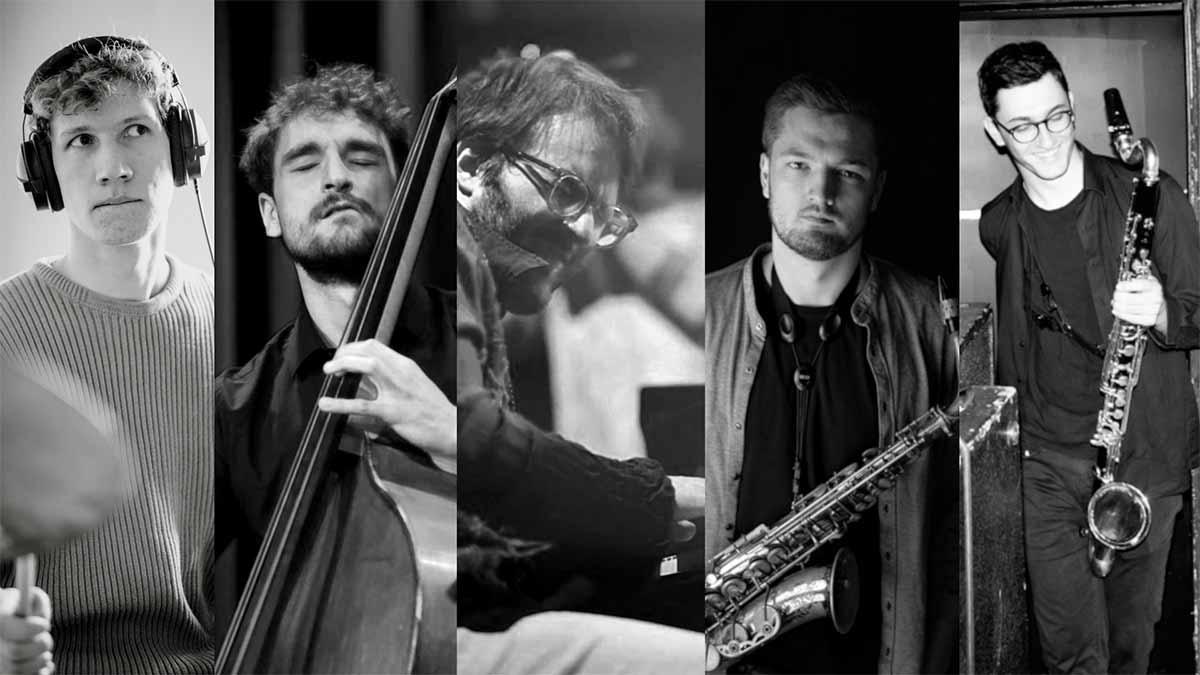 Julius Van Rhee, Victor Fox Leandro Irarragorri, Calvin Lennig, Finn Wiest, Hustel band, LOFT